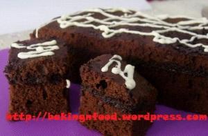 Brownies Kukus Lapis Coklat